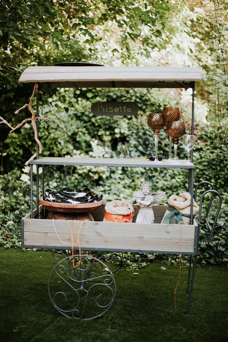 rincon de risotto en el cokctail de una boda en fuente los angeles - fotógrafo boda Valladolid