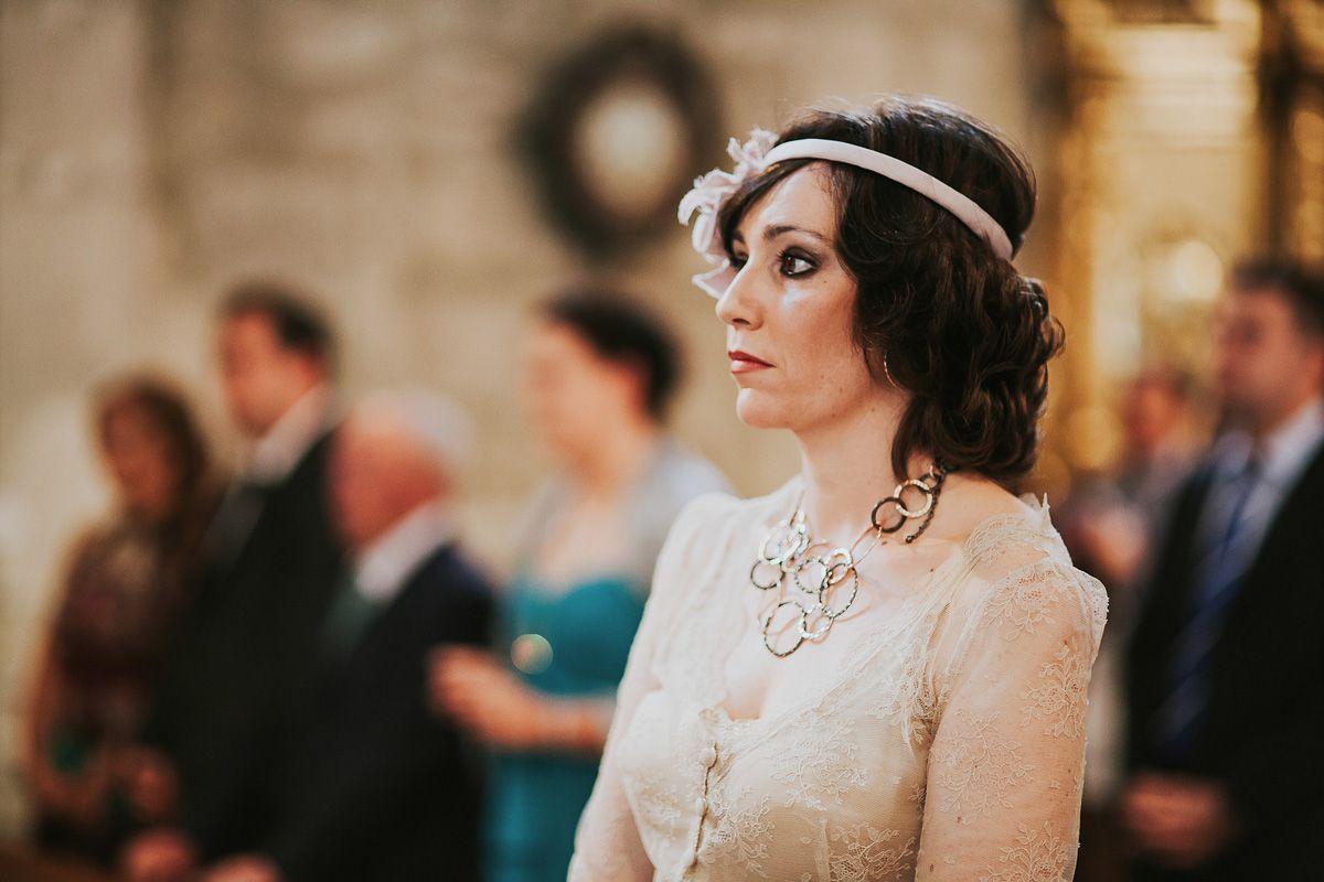 retrato de la hermana de la novia en su boda en Zaratán