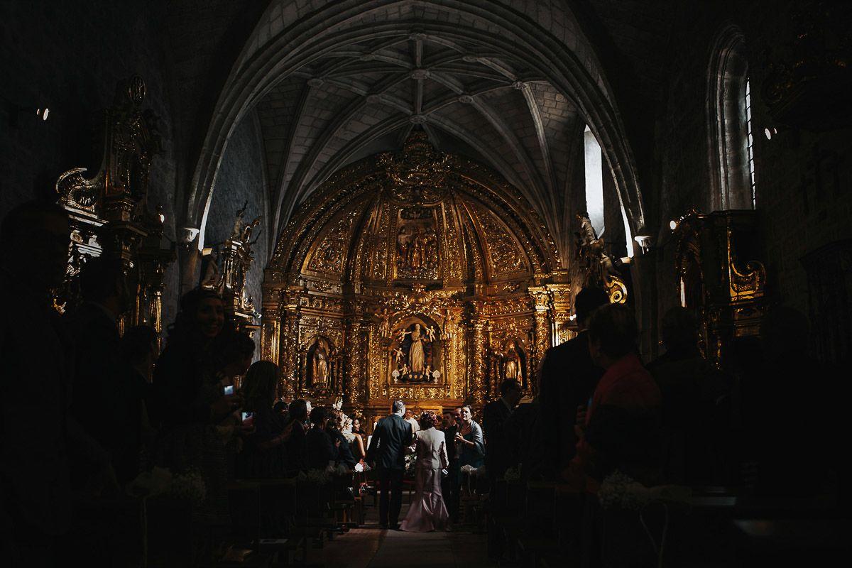 fotografias de boda en zaratan - novio en la iglesia
