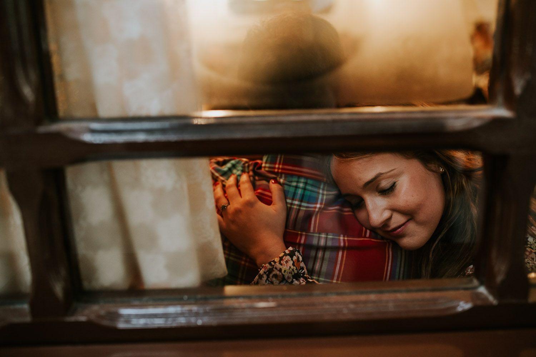 Amor a través de una ventana - cristal - amor - pareja