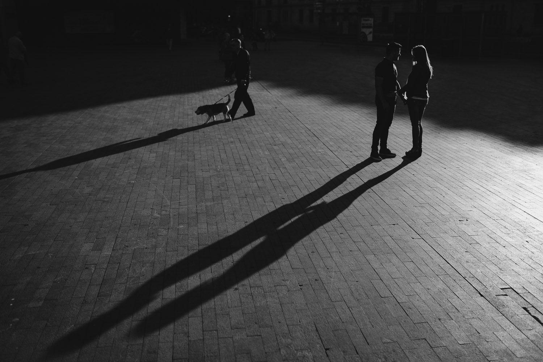 sombras de pareja