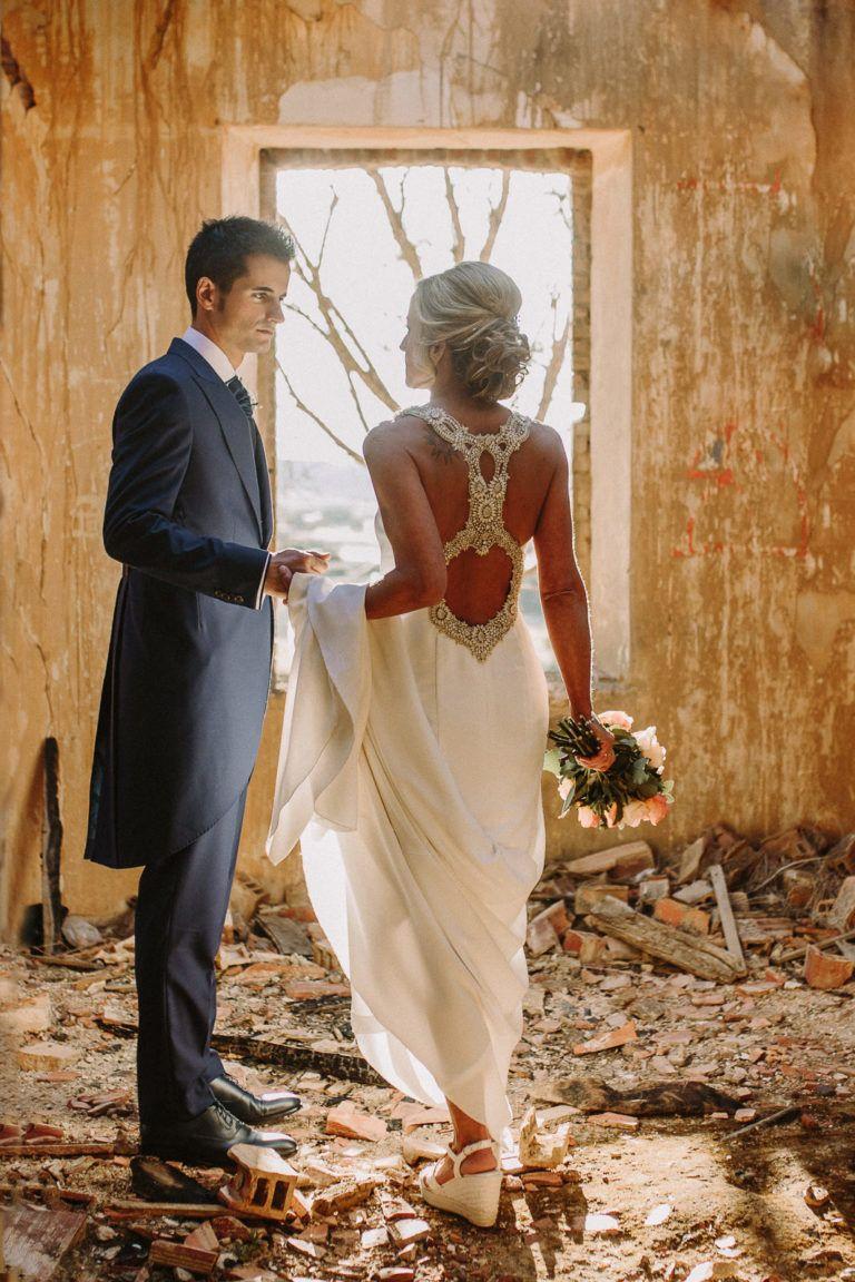 Fotografo de bodas en casa abandonada Palencia